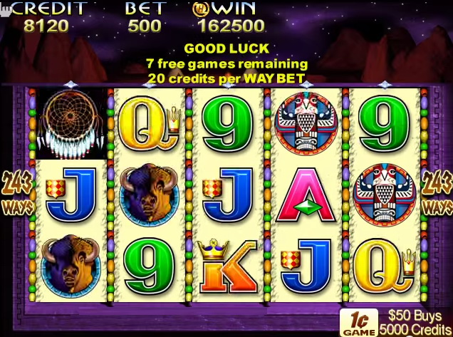 Indian dreaming slot machine software