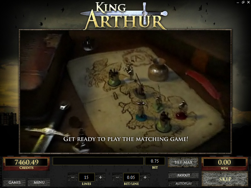 King Arthur – conquest bonus game