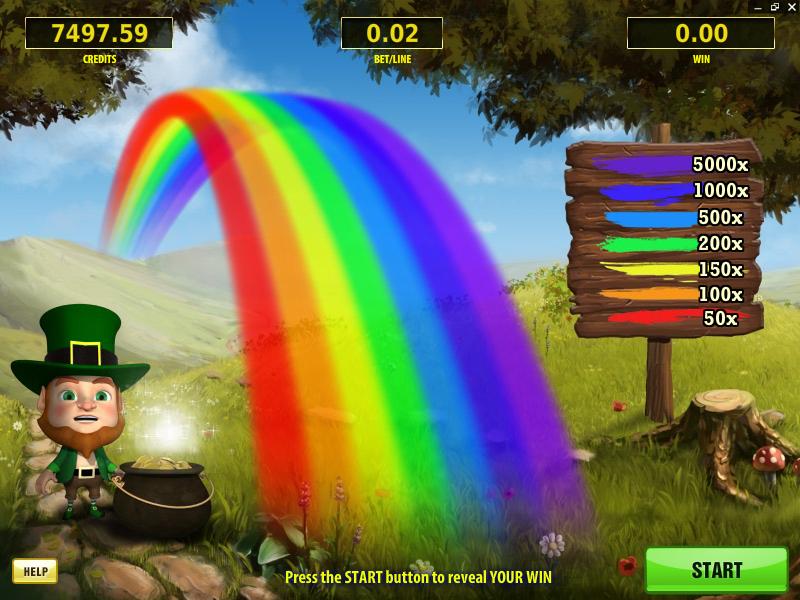 Leprechaun's Treasure – Rainbow bonus